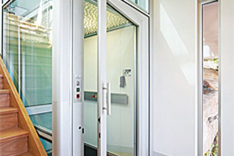 A wide selection of door and finish options are available for the Easy Living Home Elevators range.