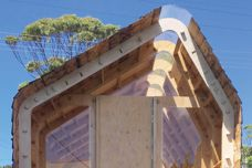 Ecoply plywood specified for modular IMBY kit