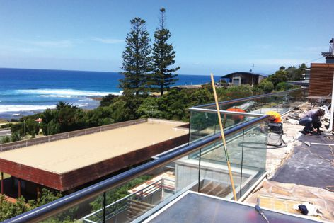 The Wolfin Waterproofing System was used on units in Lorne, Victoria, applied by Flex-a-Seal, a trained and licensed Wolfin applicator.