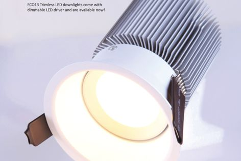 Eco13 downlight by Superlight