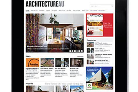 Visit ArchitectureAU.com at Architecture Media's Designex stand. Designex M+A 11.