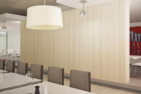 Laminex Clipwall panels are ideal for use on dividers, moveable systems and to make a design statement.