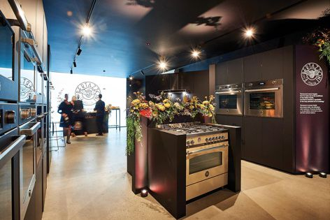 Bertazzoni's Melbourne showroom officially launched in May 2019.