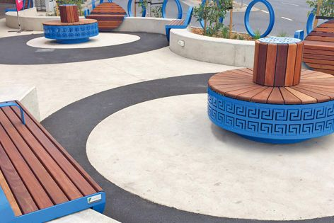 Architects and designers can easily customize street furniture solutions with Furphy Foundry.