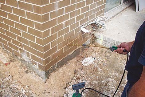 Termitium physical termite barrier