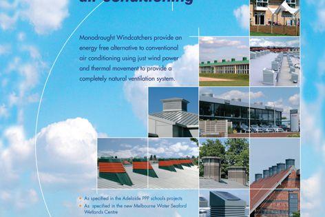 Monodraught Windcatcher ventilation