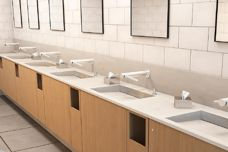 Corian Multi-basin Washplane from CASF