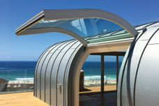BCG crafts 'gull-wing' doors for Bondi pavilions