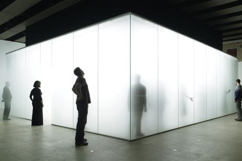 Winners of the 2015 Dulux Study Tour will visit architects including Carmody Groarke (pictured is Blind Light exhibition by Carmody Groarke with Antony Gormley). Photography courtesy of Antony Gormley.