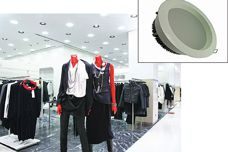 LED downlights by M-Elec