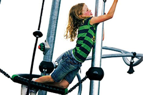 Kompan's interactive playground won top prize in the 2011 Australian International Design Awards.