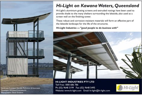 Hi-Light aluminium screens on Kawana Waters