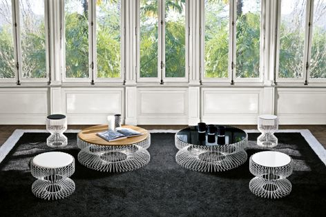 Hughes Commercial Furniture supplies the delicate Spin collection.