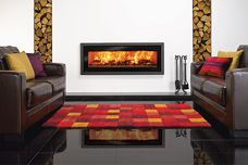 Wood-buring fireplaces by Castworks