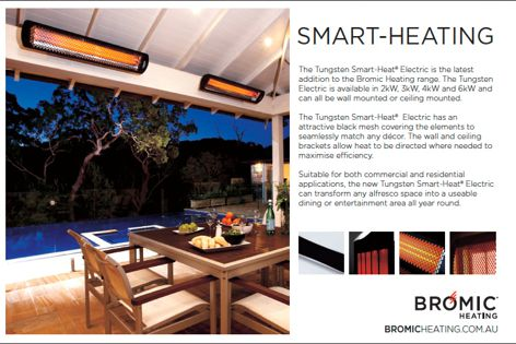 Smart-Heating heaters from Bromic