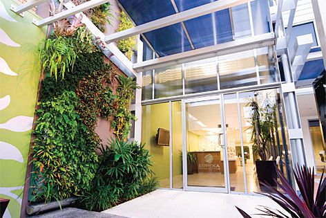Plant Up green walls and landscaping