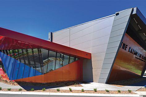 Kingspan 80 mm wall panels used in the Katsumata Centre at Kardinia International College in Geelong