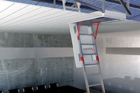 Two new models have been introduced to the Vista/Skydore floor-to-roof access system range.