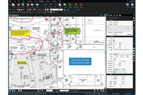 Revu program from Bluebeam Software
