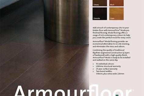 Armourfloor prestained flooring