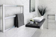 Kado Frame heated towel rail by Reece