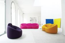 Pumpkin armchair by Ligne Roset