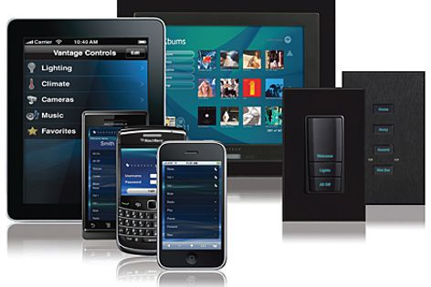 Vantage touch screen and Webpoint controllers allow control and visual feedback in more detail.
