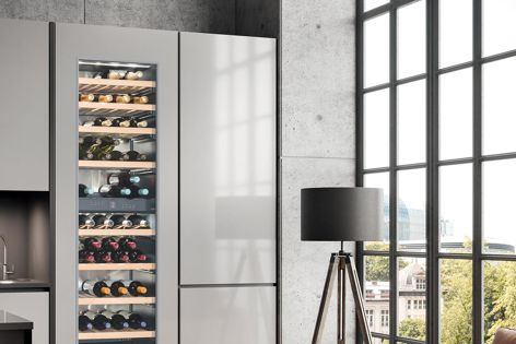 Whether supplied in home or commercial environments, Liebherr wine cabinets keep any variety of wine