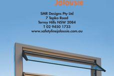 Safetyline Jalousie louvred windows