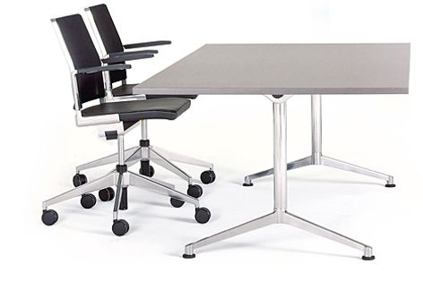 The UR folding table is ideal for boardrooms and other environments that require flexibility.