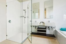 DuPont Corian shower floor solution from CASF