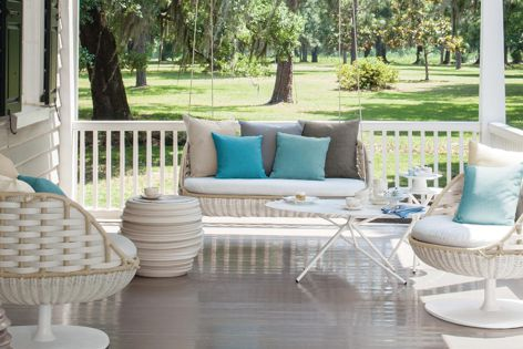 """The Swingrest collection is characterized by gracious lines, generous proportions and an inviting """"personality."""""""