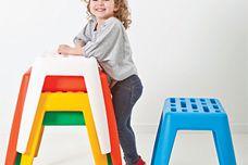 Milk stool by Luxxbox