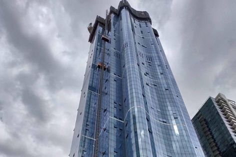 Approximately 500,000 m2 of Gyprock were specified for Australia 108, the tallest residential building in Australia. Architect: Fender Katsalidis.