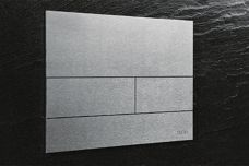 TECESquare metal bathroom push plate by Gro Agencies