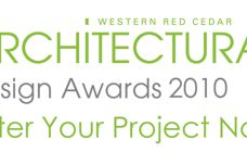 Western Red Cedar Architectural Design Awards