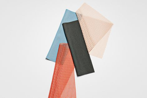 The Doshi Levien curtain collection is available in a range of colourways.