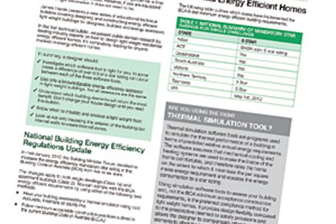 The Energy Efficient Lightweight Homes Technical Bulletin.
