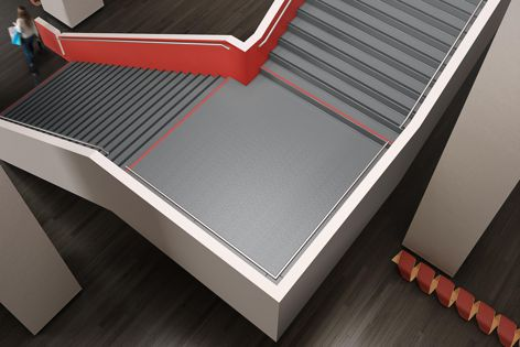 AB Pure stair treads and AB Pure rubber flooring are designed to shape a greener, healthier environment.