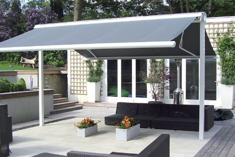 Syncra is ideal for outdoor entertaining areas in residential projects and commercial spaces.