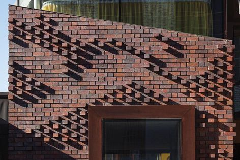 Fitzroy House by John Wardle Architects features Krause Bricks.