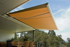 Sunbrella fixed-frame awnings