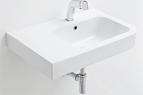 The Urban Soft basin has square edges and strong lines.