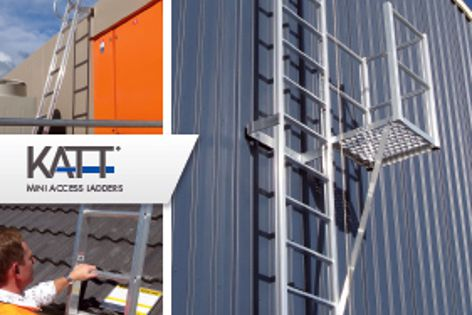 Katt access ladder systems