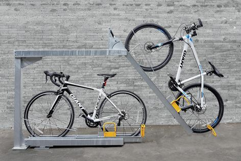 Bicycle infrastructure by Cora Bike Rack