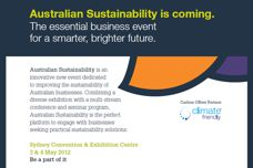 Australian Sustainability event