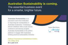 Australian Sustainability event