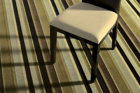 The smart-looking Silk Road carpet by Masland Contract is suitable for hospitality applications.