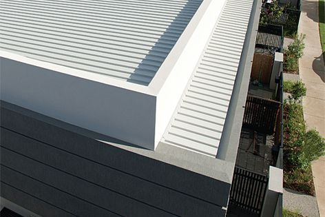 The Skyline System is a clever weatherproof solution for parapets and balcony heads.