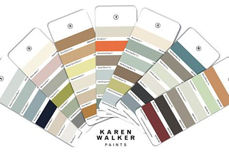 The new Karen Walker Paints collection from Resene paints includes variations of favourite hues.